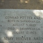 Poet and writer, Conrad Aiken