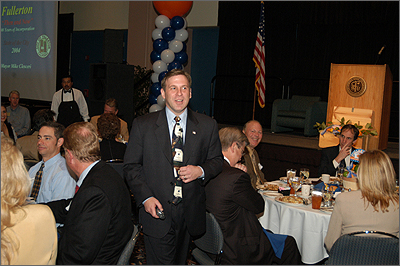 Former Mayor Clesceri walk & talk at Chambers State of City Luncheon