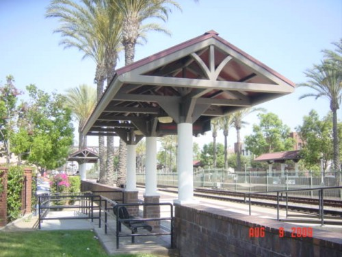 "Fullerton platform ""alcove"" designed by our City Council..."