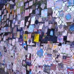 9/11 Memorial On A Fence In Chelsea (NYC)