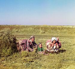 A typical Kharakh family