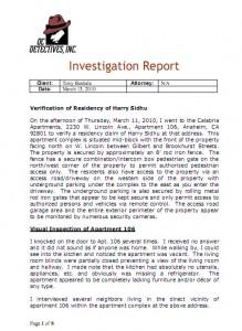 Criminal Complaint Filed With Da Against Harry Sidhu