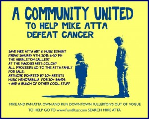 Save Mike Atta Flyer