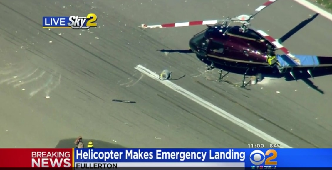 DEA Helicopter Crashes at Fullerton Airport - Friends For