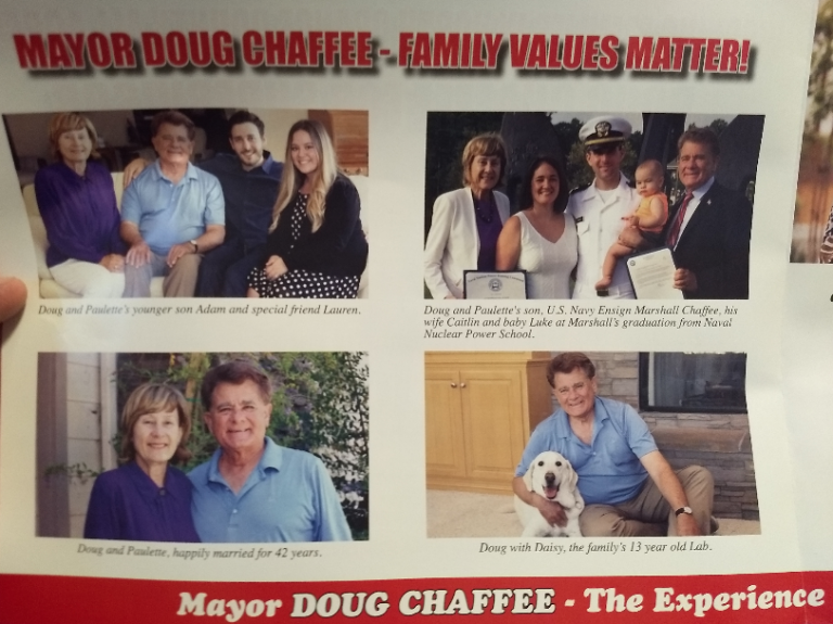 Chaffee Mailer 2018 Front