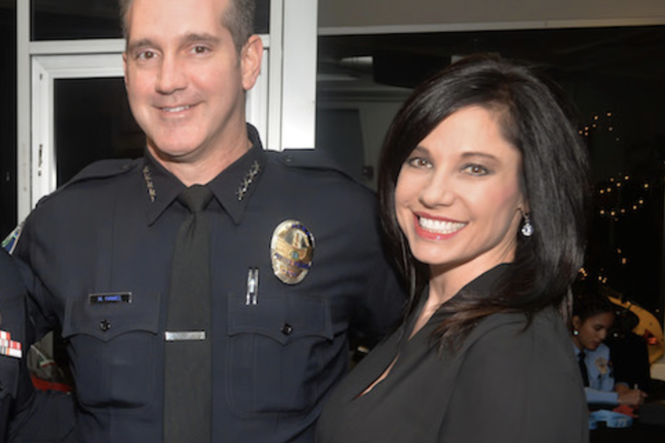 Chief Hamel and Wife