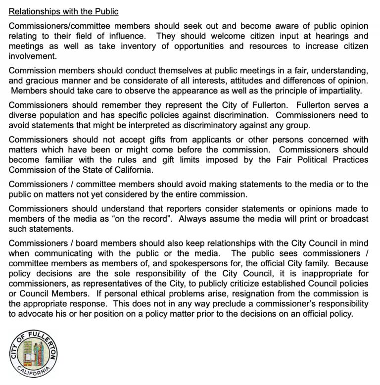 Commissioner Handbook