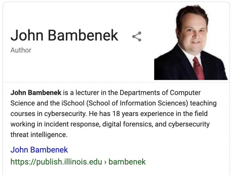 John Bambenek