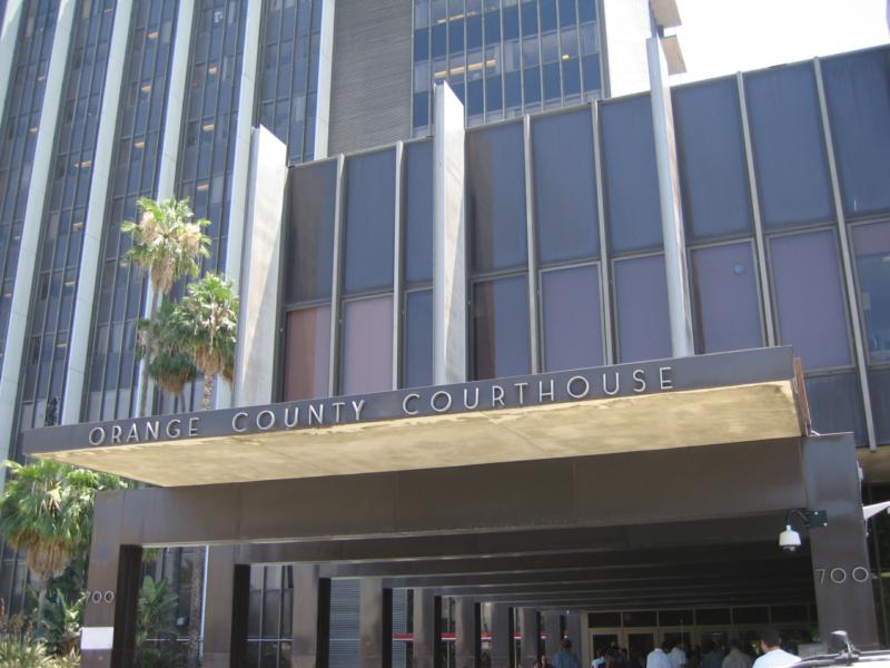 OC Superior Court in Santa Ana