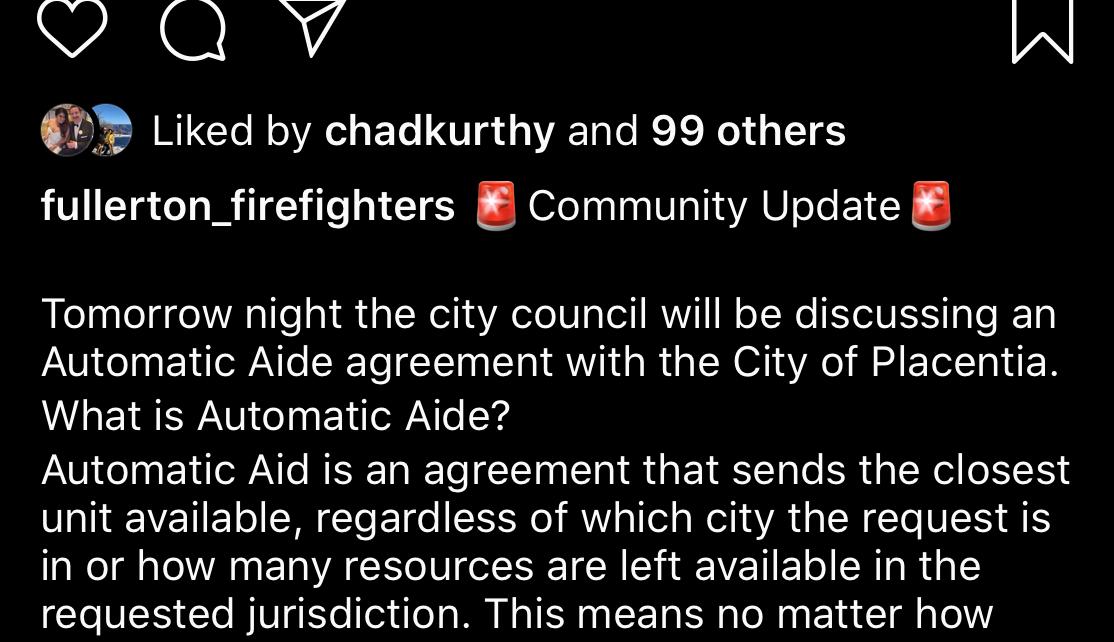 Fire Hero Lies Placentia