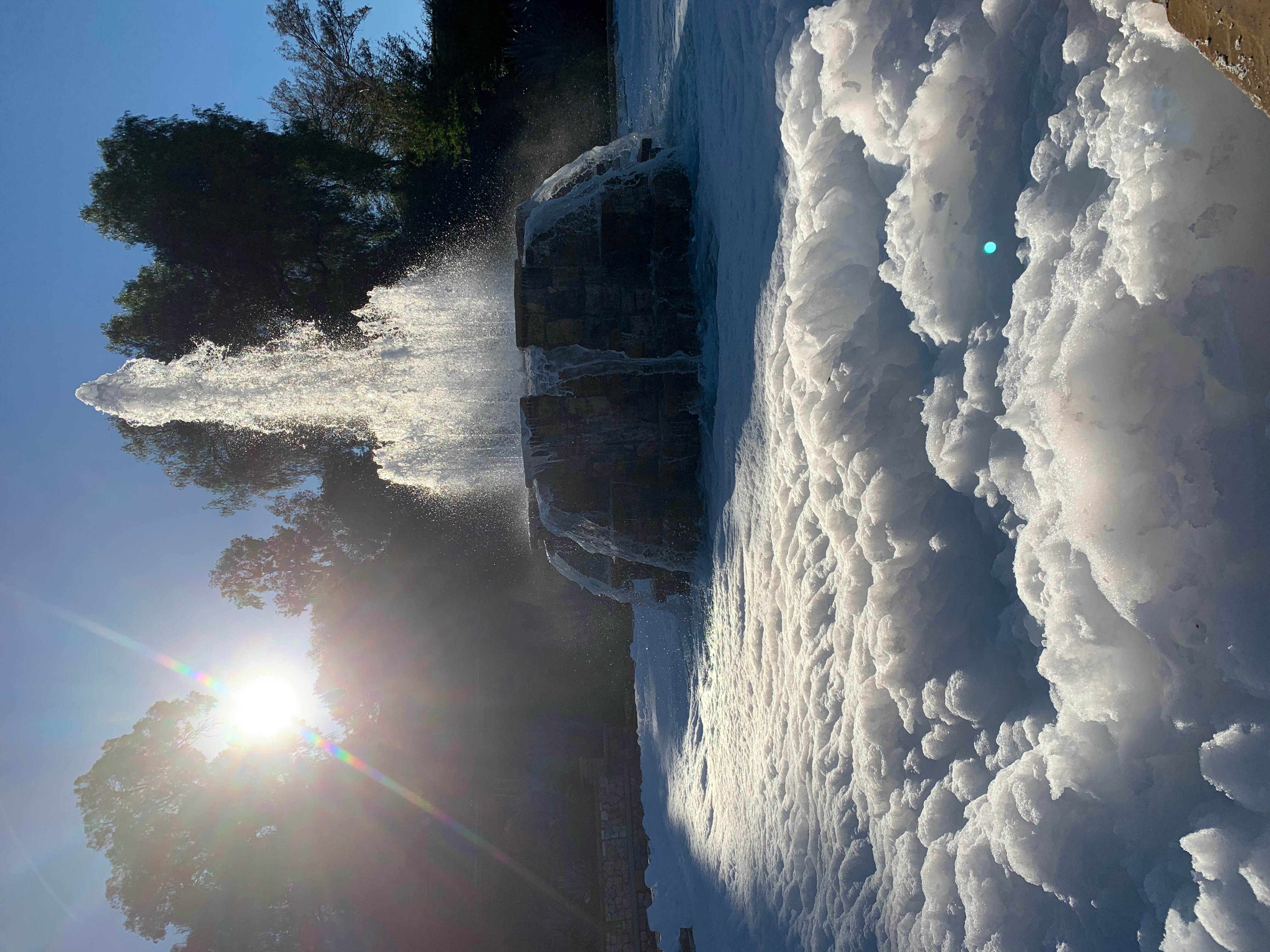 Hillcrest Park Founded Foam